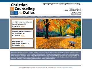 Wordpress website design for counseling firm