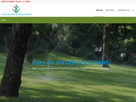 websites for irrigators and landscapers