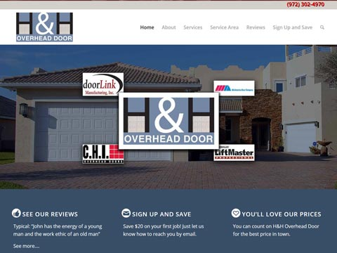 New website for construction, remodeling, or home repair
