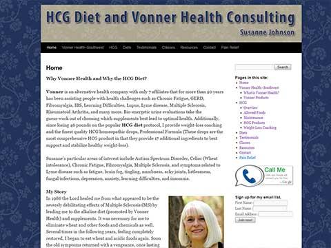 Dallas, Texas Wordpress developer for health coaches
