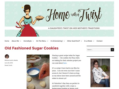 Home With A Twist, the blog of Melissa Austin-Weeks