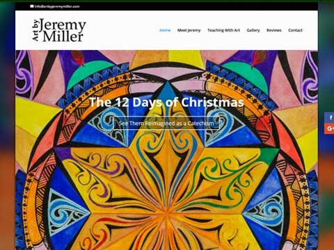 Websites for Christian artists, theologians, teachers