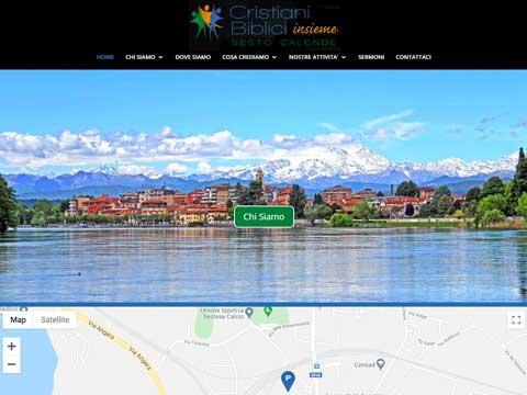 missionary websites built in WordPress