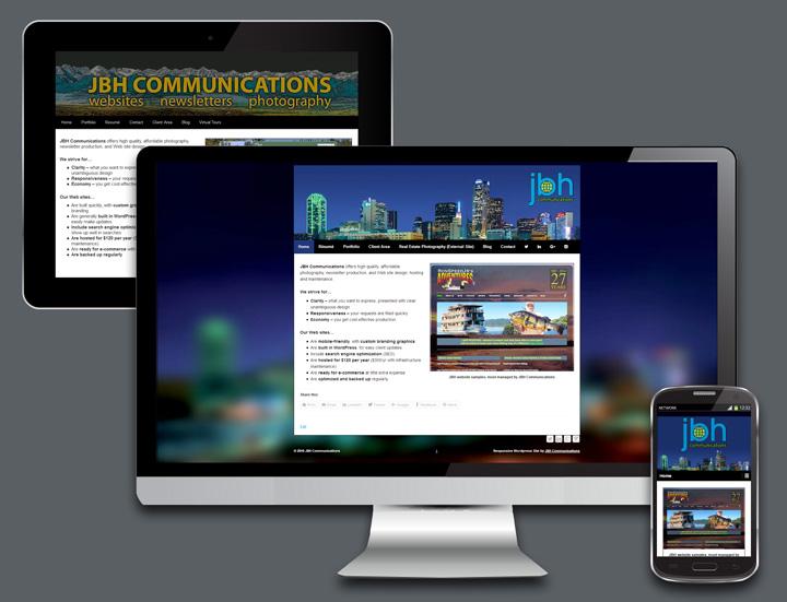 Mobile-friendly website design in Dallas
